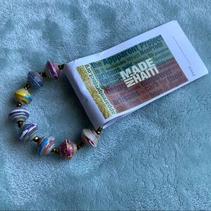 Apparentproject.org Bracelet Made in Haiti